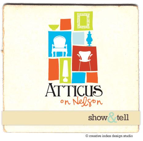 Show&tell logo desidn